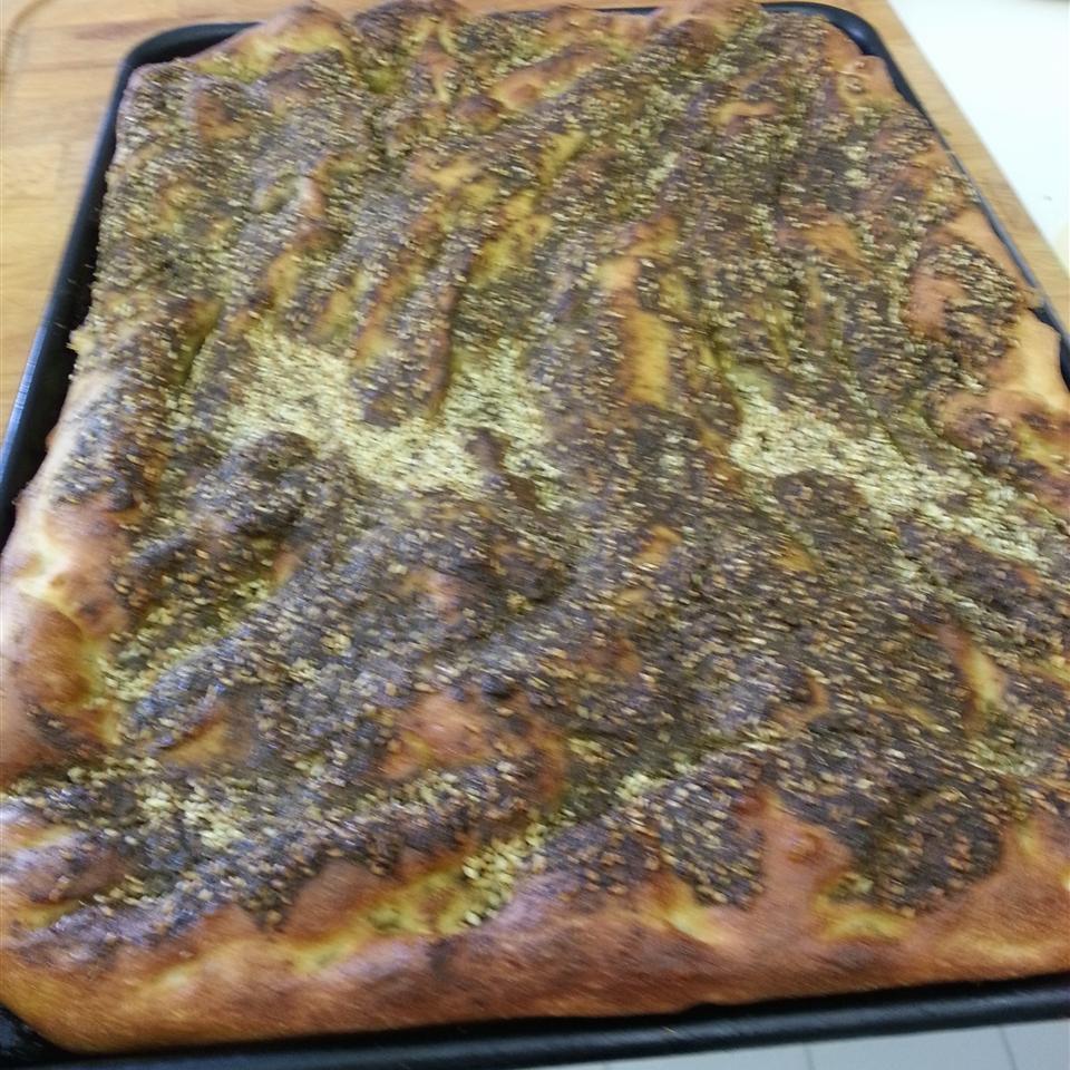 Lebanese Zaatar (Za'atar) Bread Norma Jabri