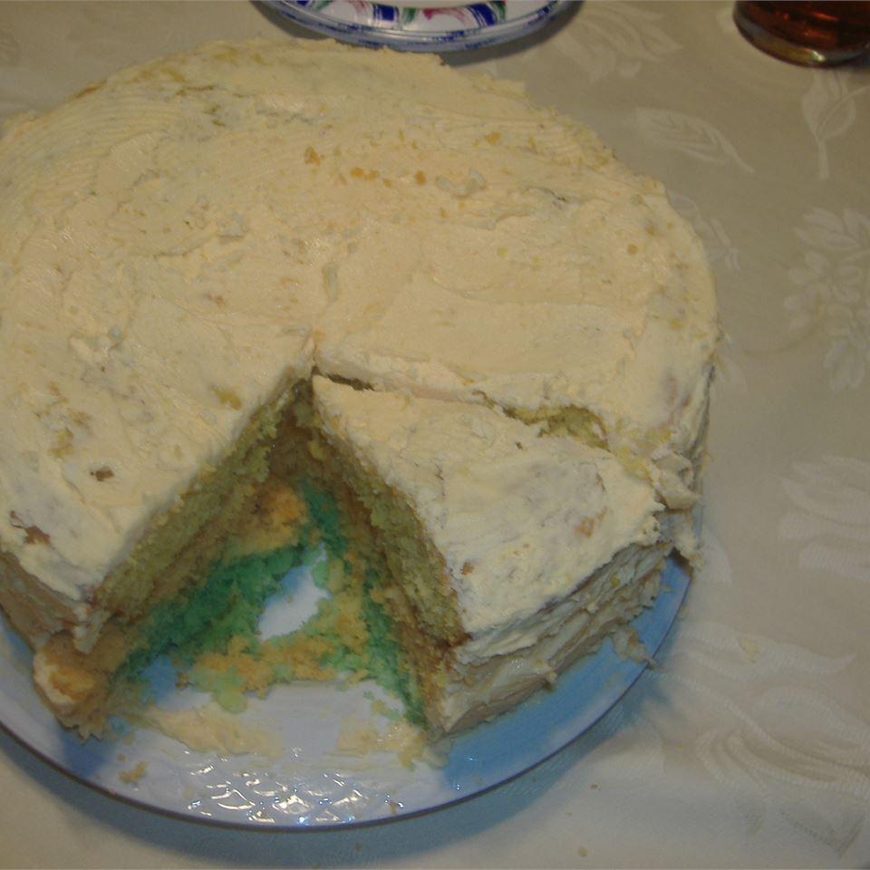 Rainbow Citrus Cake Chrisa