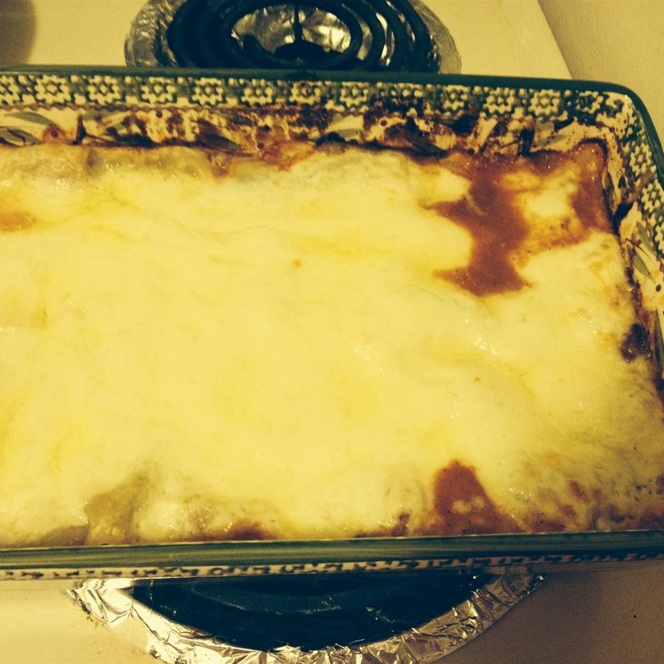 Easy Vegetarian Red Beans Lasagna COOKIEGAL