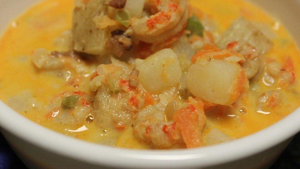 Crawfish Potato Soup