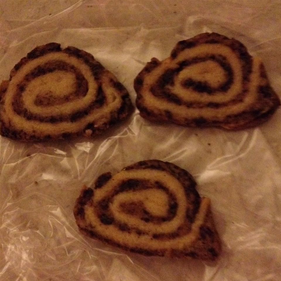 Chocolate Pinwheel Cookies B.J. Weems