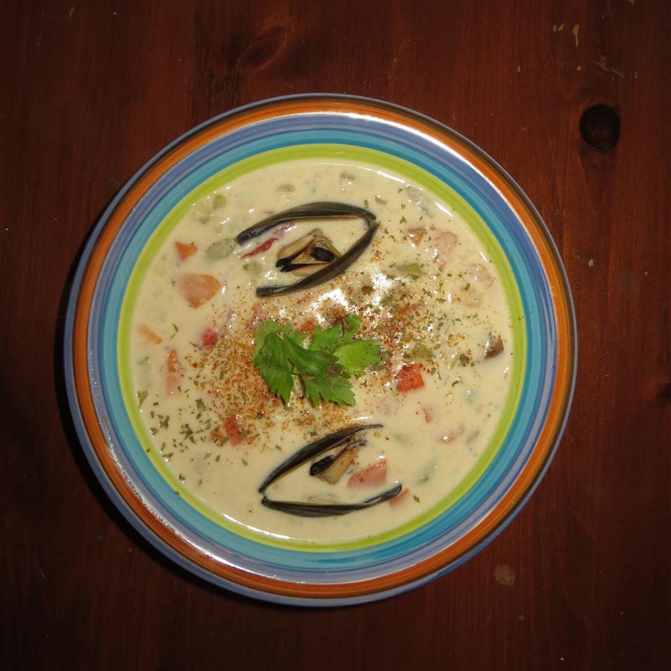Mom's Nova Scotia Seafood Chowder