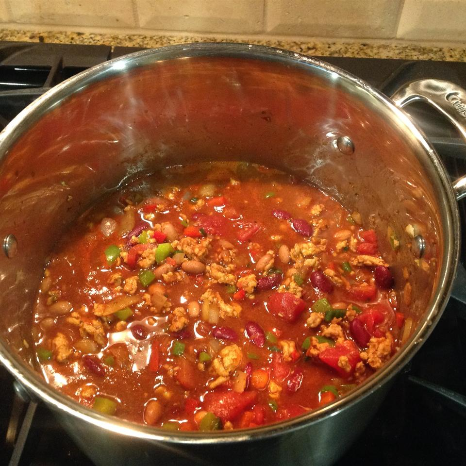 Traditional Chili with Ground Turkey henrilusk