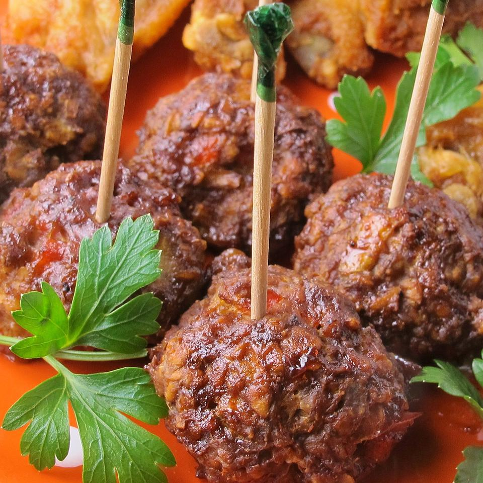 BBQ Glazed Homemade Meatballs naples34102