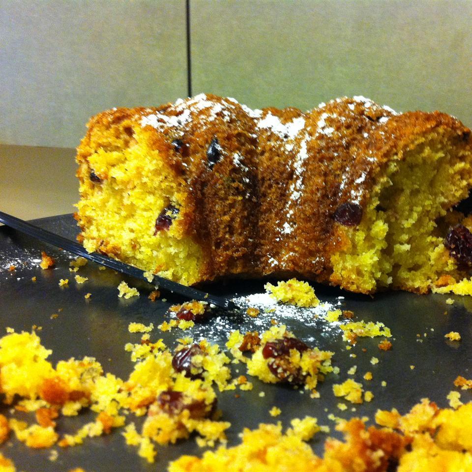 Grandma's Cranberry Orange Cake Preeti