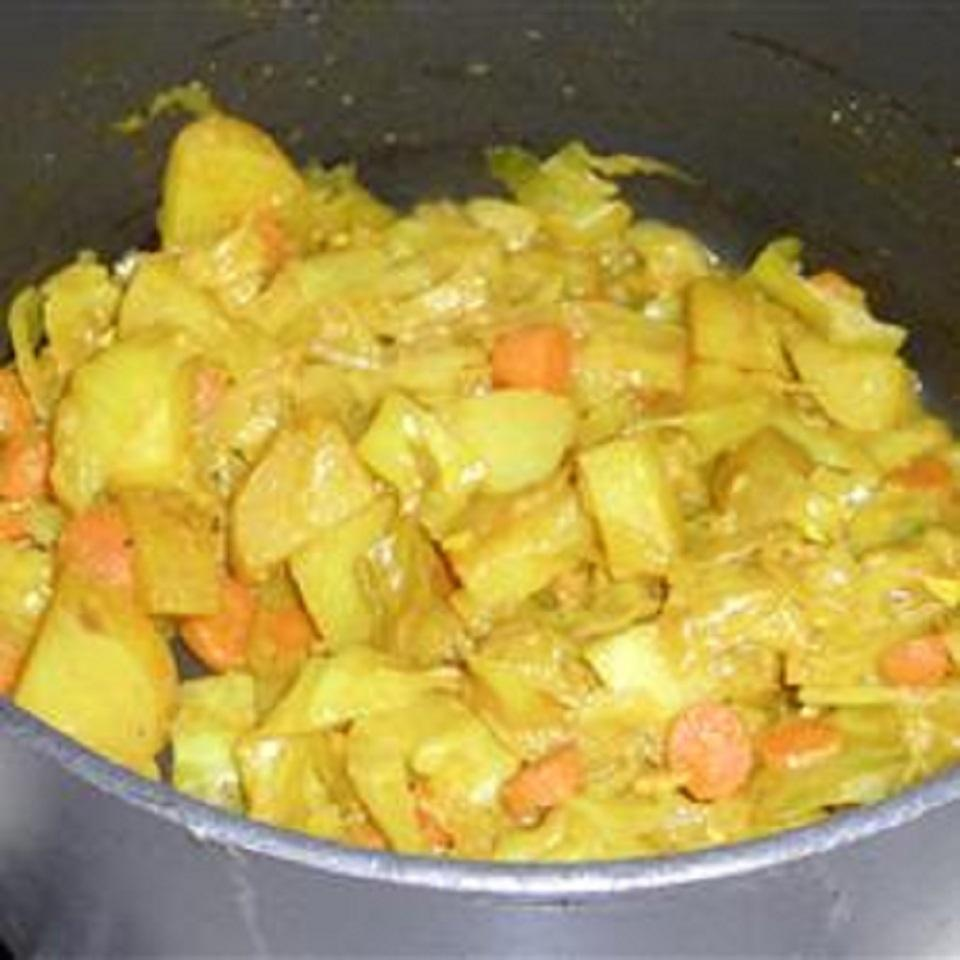 Ethiopian Cabbage and Potato Dish (Atkilt) Twin Cities