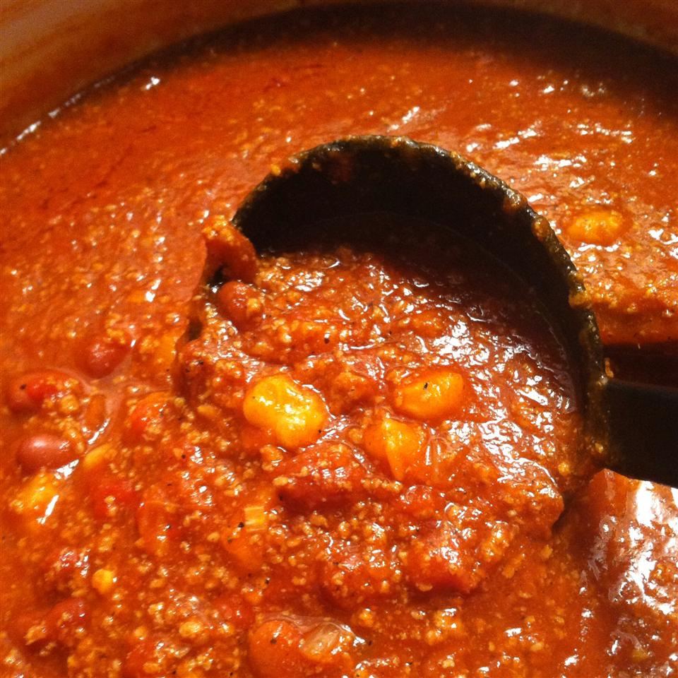 Traditional Chili with Ground Turkey