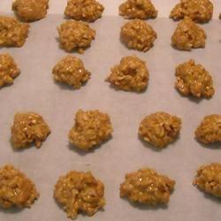No Bake Peanut Butter Cookies II ~TxCin~ILove2Ck