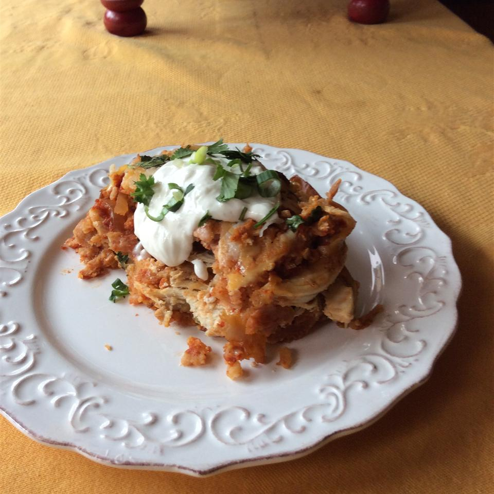 Anne's Chicken Chilaquiles Rojas