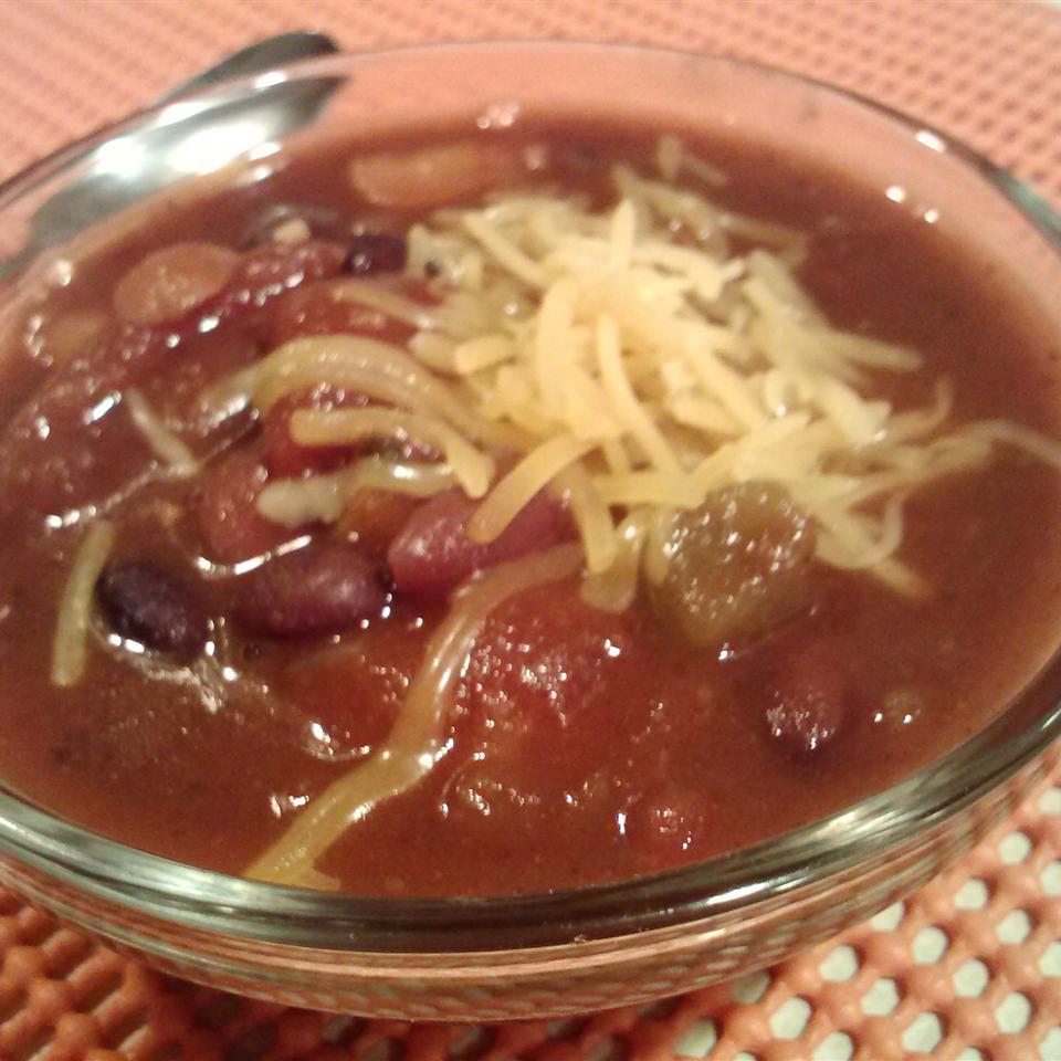 Pub Style Vegetarian Chili Recipe Allrecipes
