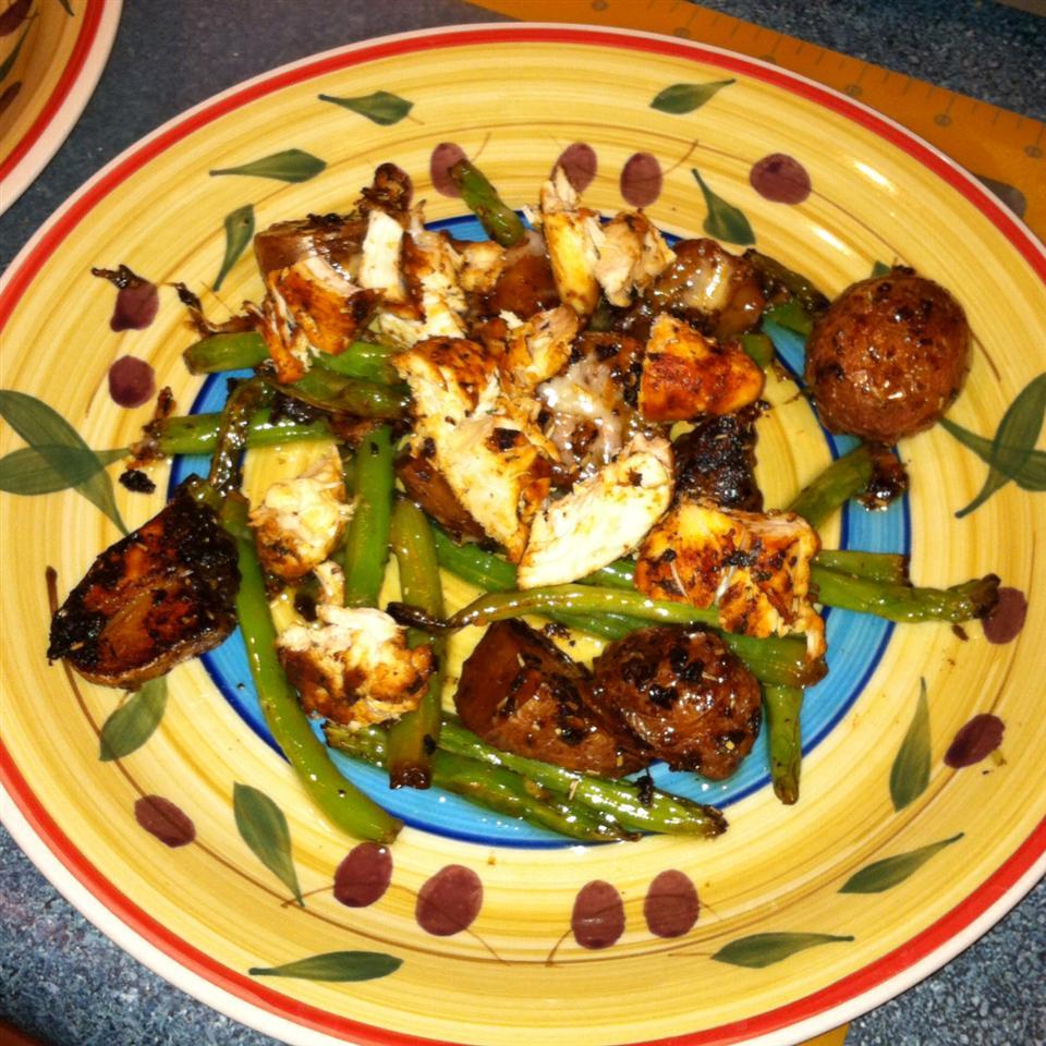 Garlic Chicken and Potatoes Deb Armstrong Gonsalves