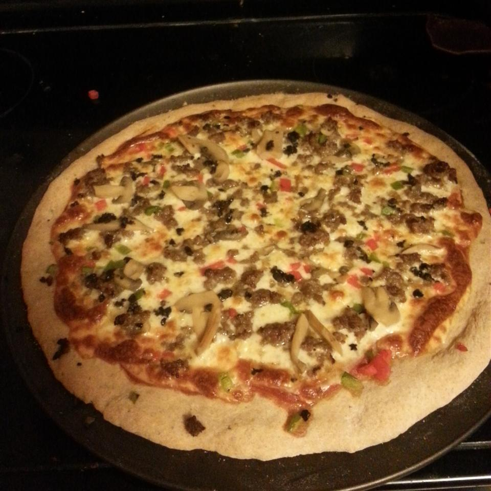 Amazing Whole Wheat Pizza Crust Kristin Marie