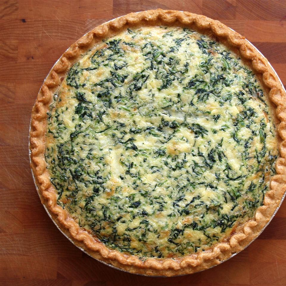 """This quiche is so delicious and easy to make in addition to being budget friendly,"" says B's Kitchen. ""We never have leftovers, even with several picky eaters in the house!"""