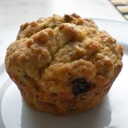 Savory Sausage, Cheese and Oat Muffins mcmeg12