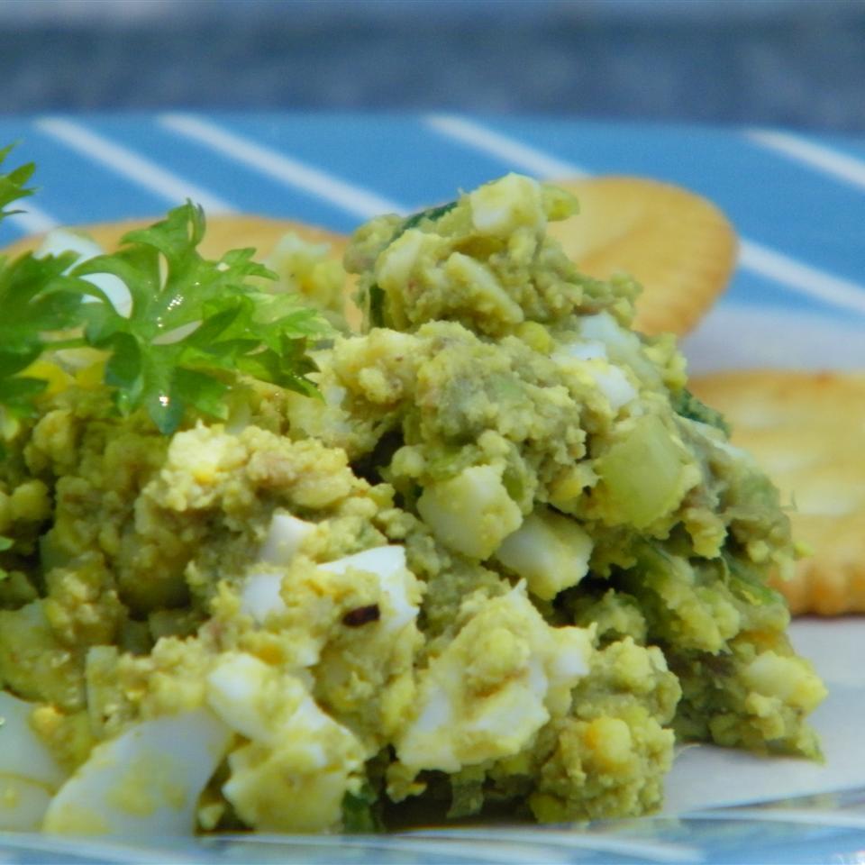Light Avocado Egg Salad