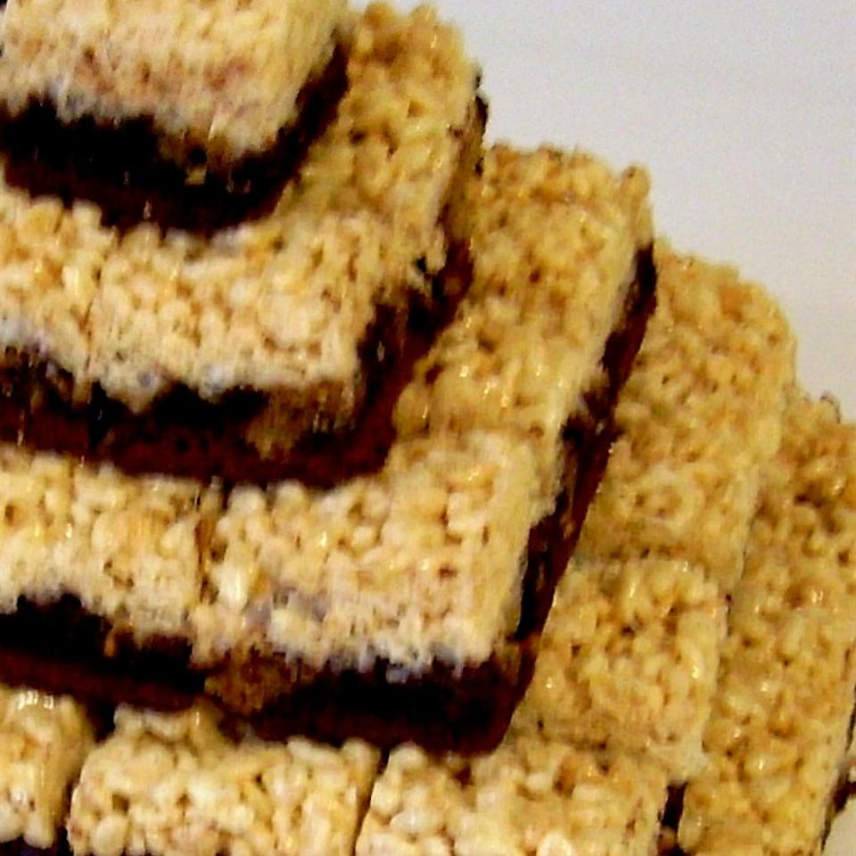 Peanut Butter Rice Krispies® Brownies Ryan Hamerly