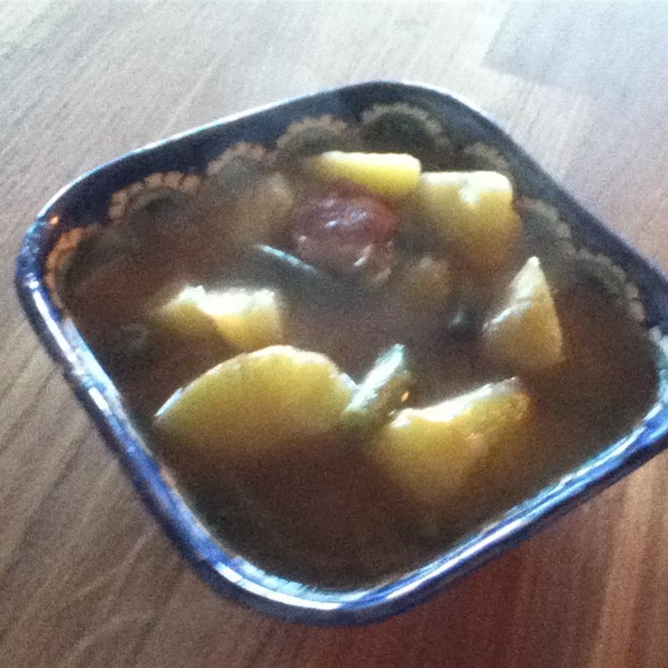 Sweet-Sour Green Bean Soup
