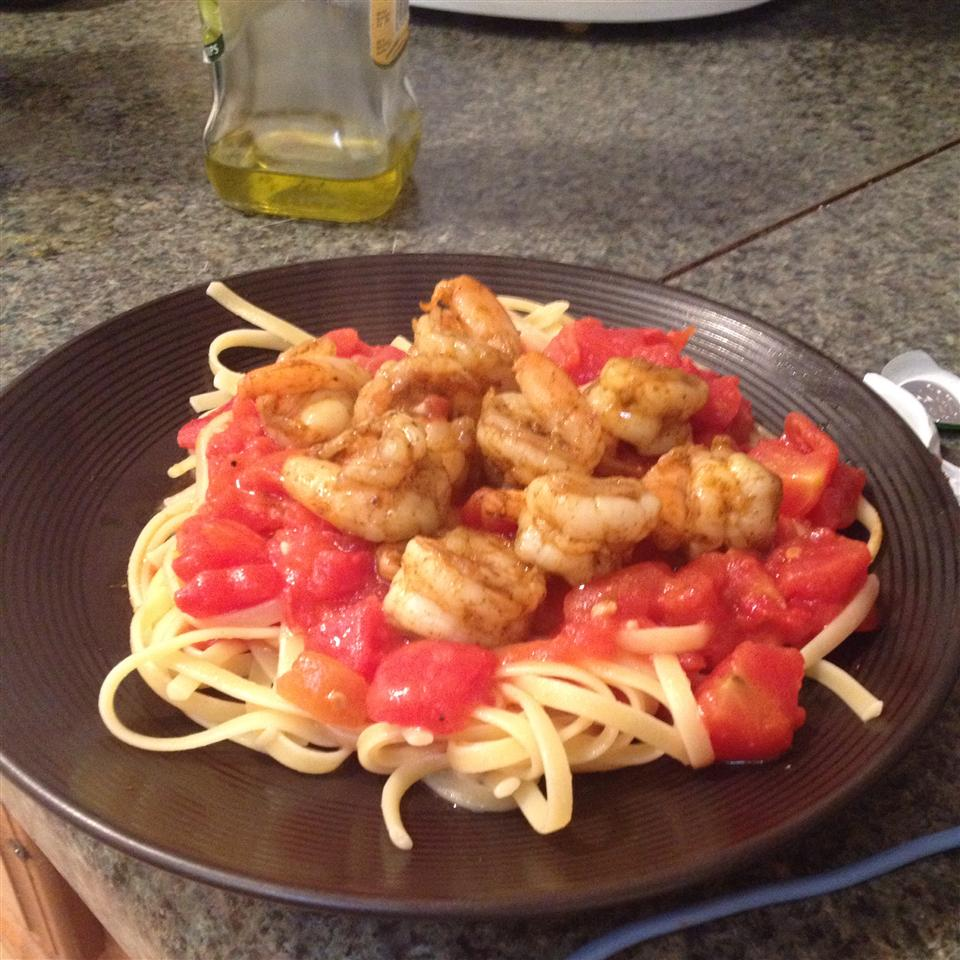 Champagne Shrimp and Pasta