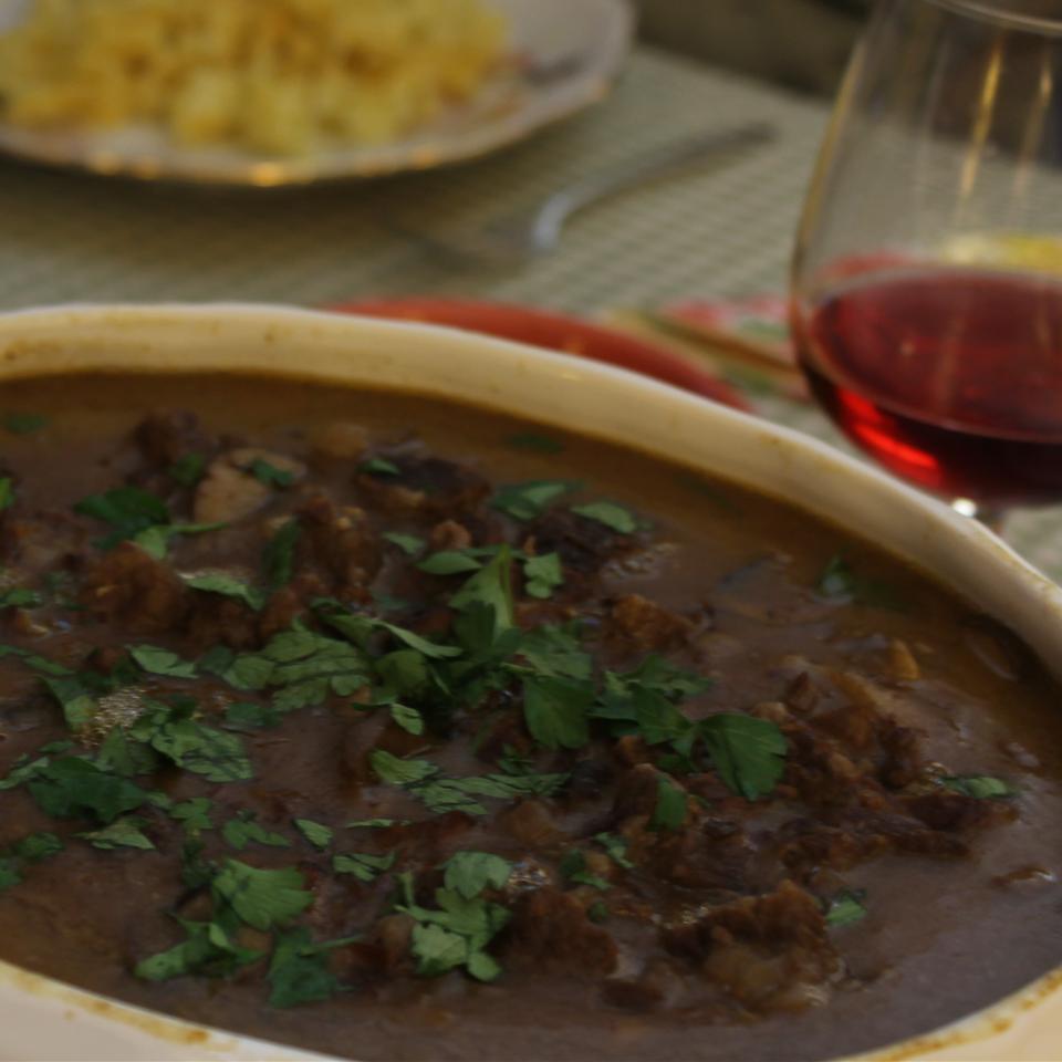Beef, Burgundy Style