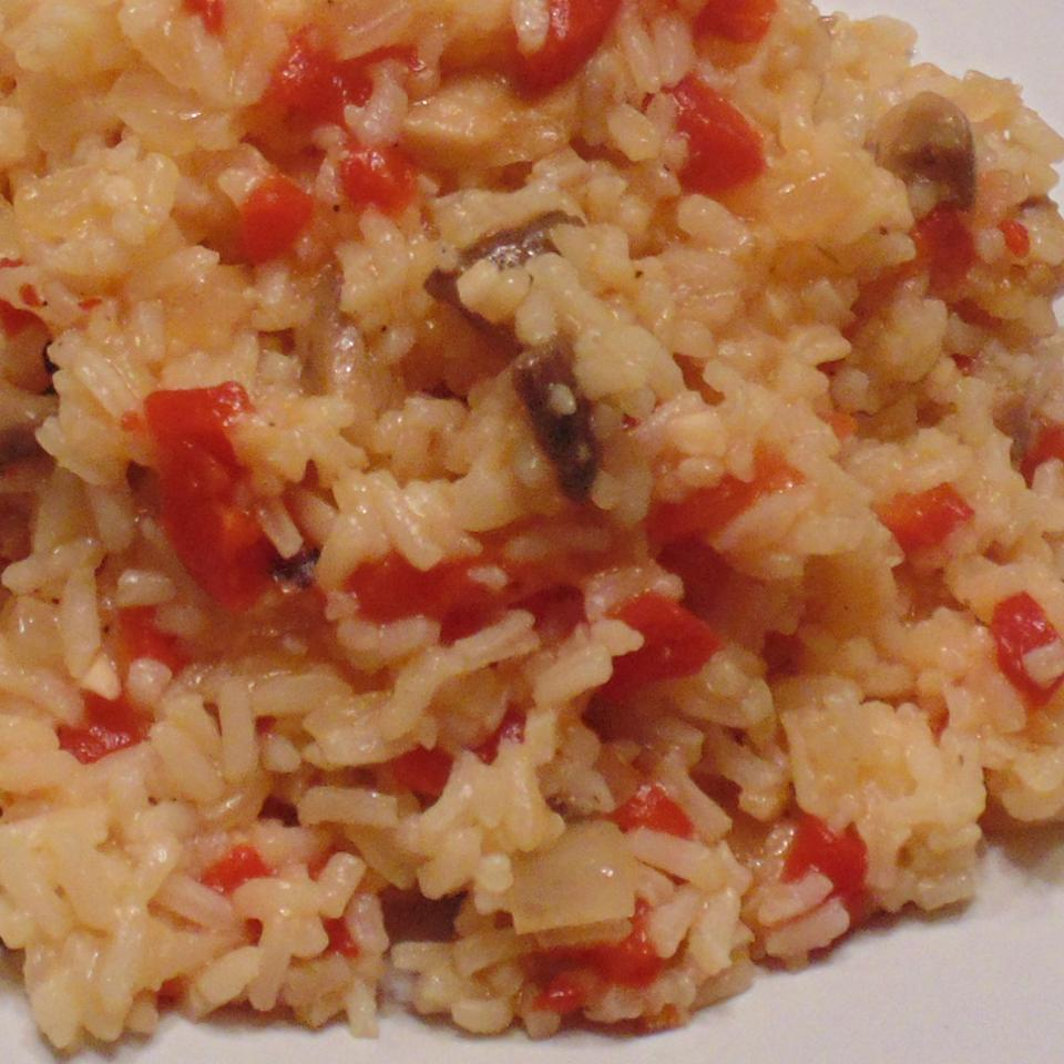 Tasty Spicy Rice Pilaf