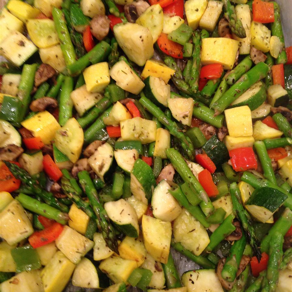 Whitney and Ashley's Flawless Roasted Vegetables Mamooshka