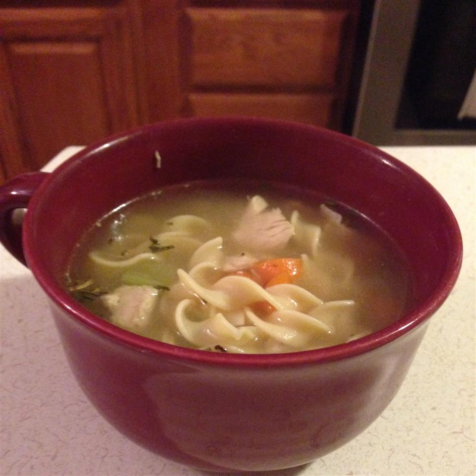 Sensational Chicken Noodle Soup kendallljo