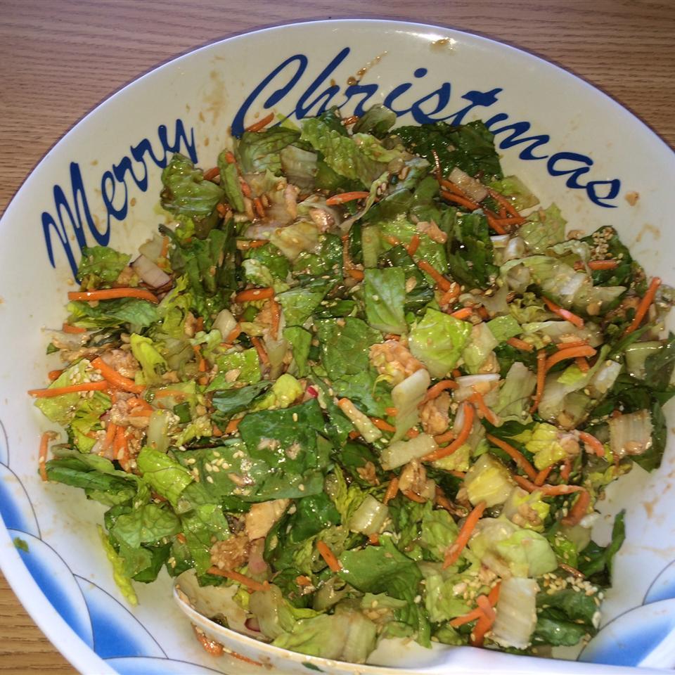 Asian Salmon Salad