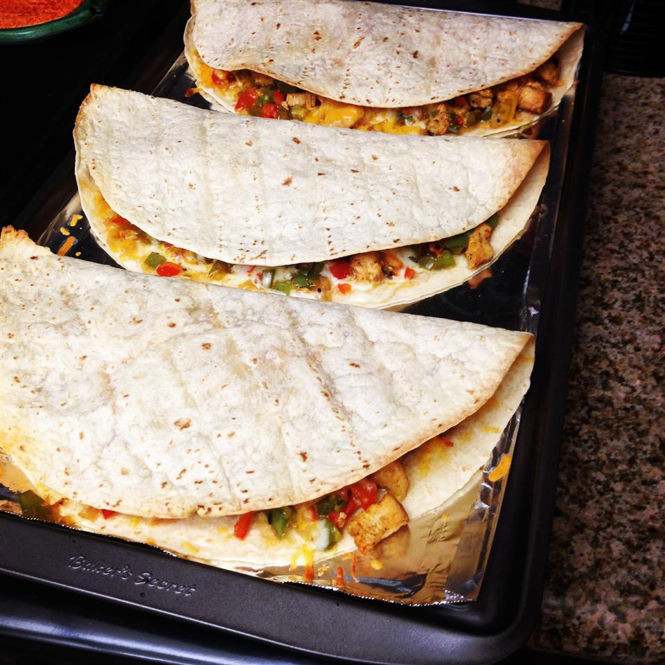 Chicken Quesadillas Heather