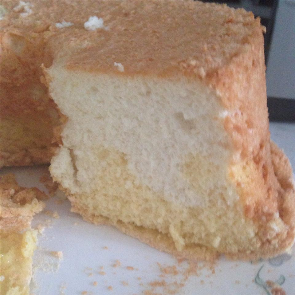 Two Part Angel Cake Caralee