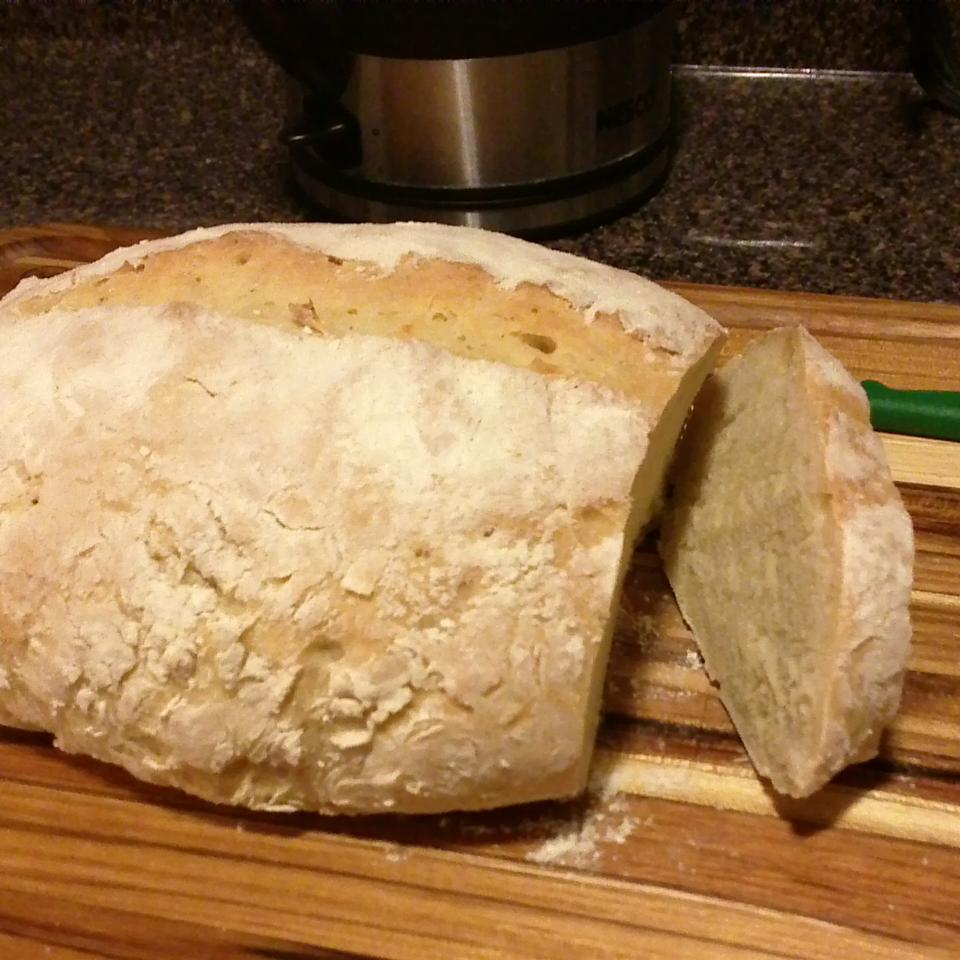 No Knead Beer Bread namelessunday