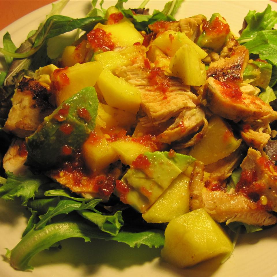 Chicken, Avocado and Mango Salad DavidW