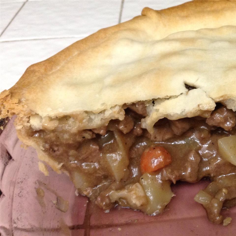 Beef Pot Pie III Patty