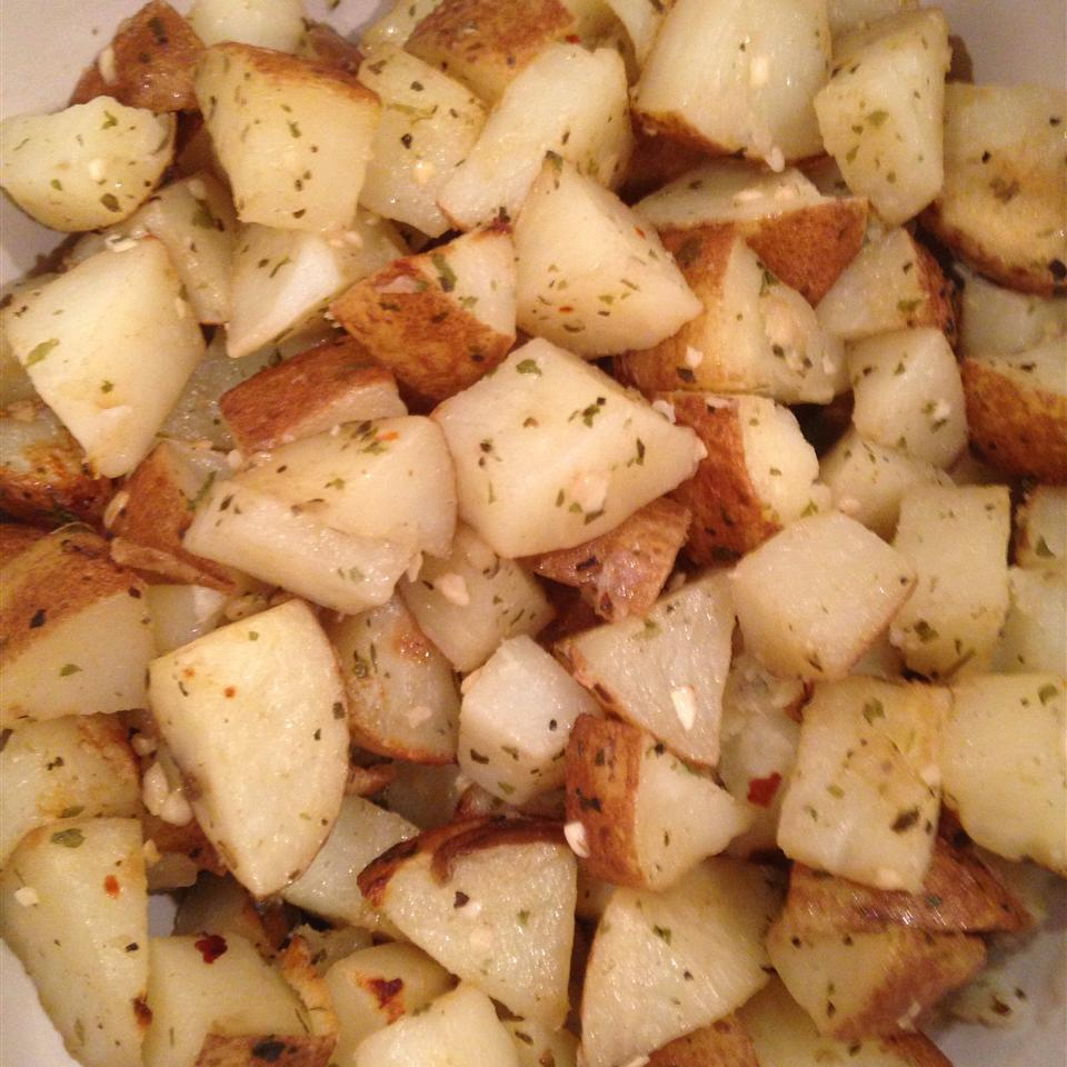 Healthier Oven Roasted Potatoes Mamooshka