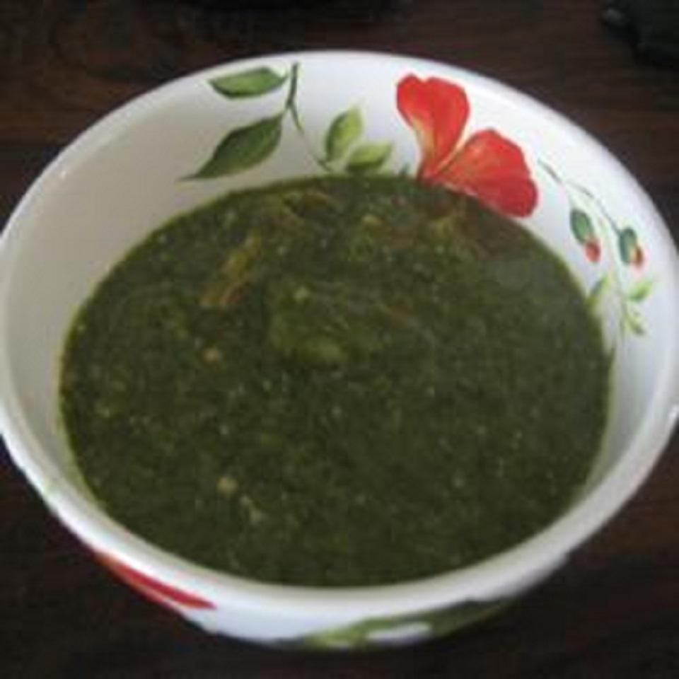 Trinidadian Callaloo Soup Trini