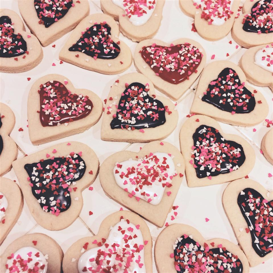 Pope's Valentine Cookies Jelly