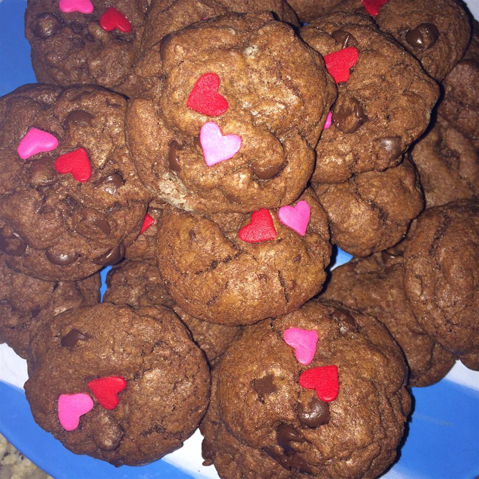 Chocolate Chocolate Chip Cookies III Kristina