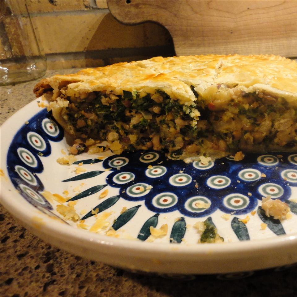 Black-Eyed Pea Pie Graden