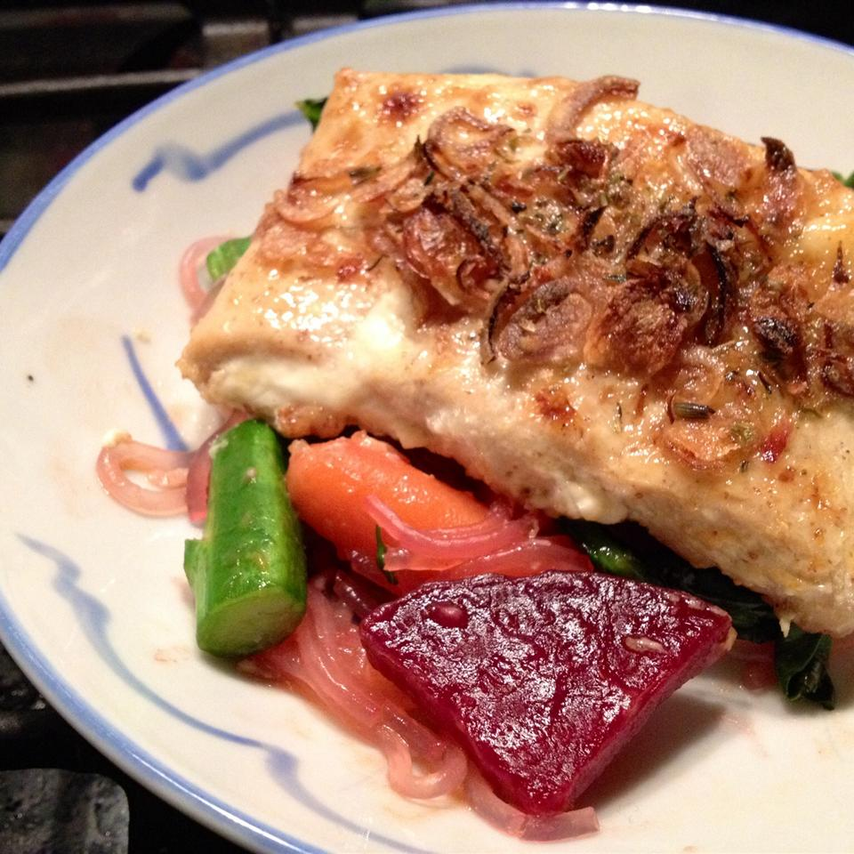Wasabi Mayo Salmon myomi