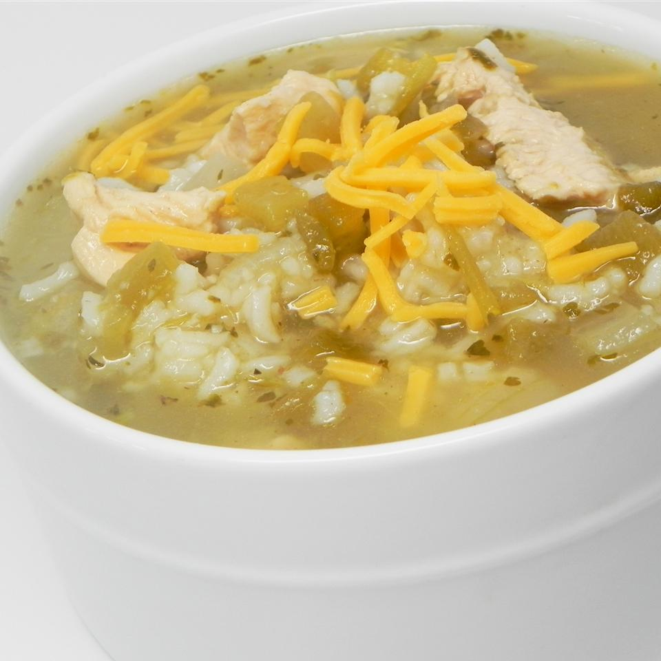 Green Chile Chicken and Rice Soup sara