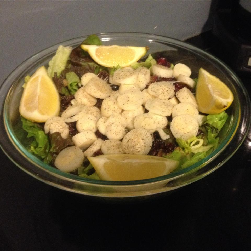 Hearts of Palm and Spinach Salad scoopnana