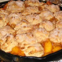 Fresh Southern Peach Cobbler