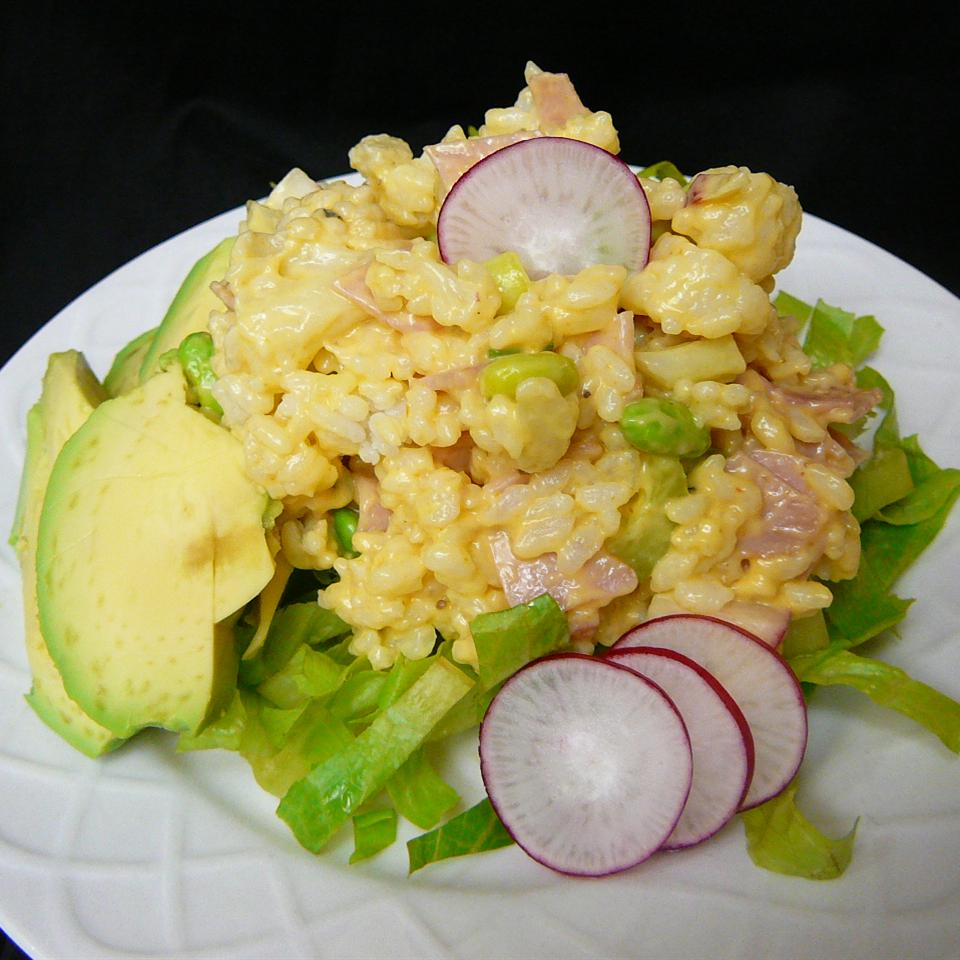 Rice and Ham Salad Molly
