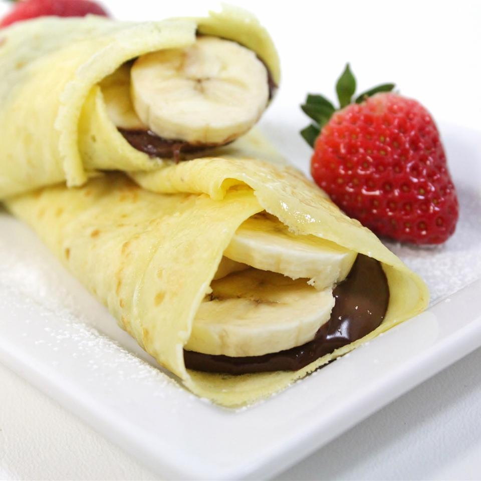 Chocolate Hazelnut Fruit Crepes Melissa Goff