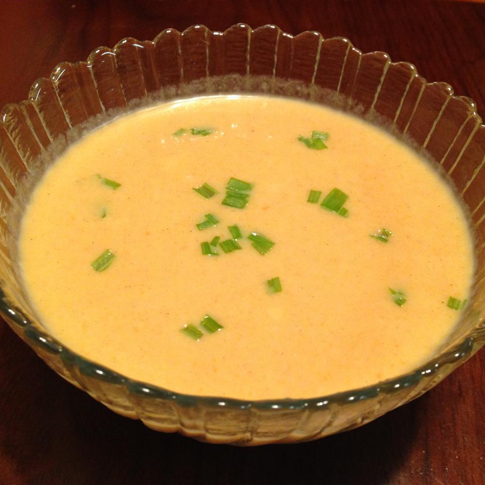 Ginger Carrot Soup by Jean Carper