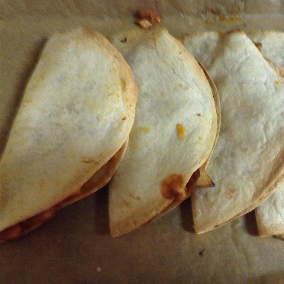Texas Chicken Quesadillas