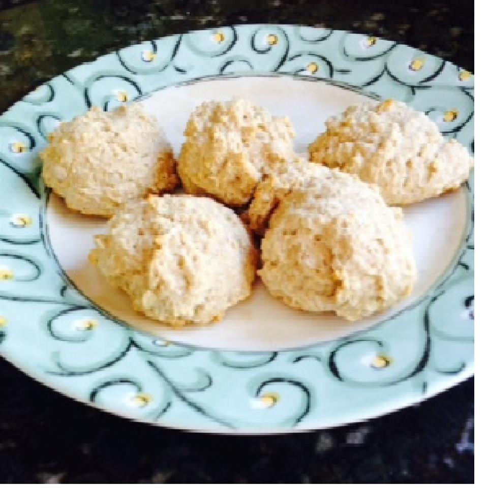 Whole Wheat Vegan Drop Biscuits DumbleDog
