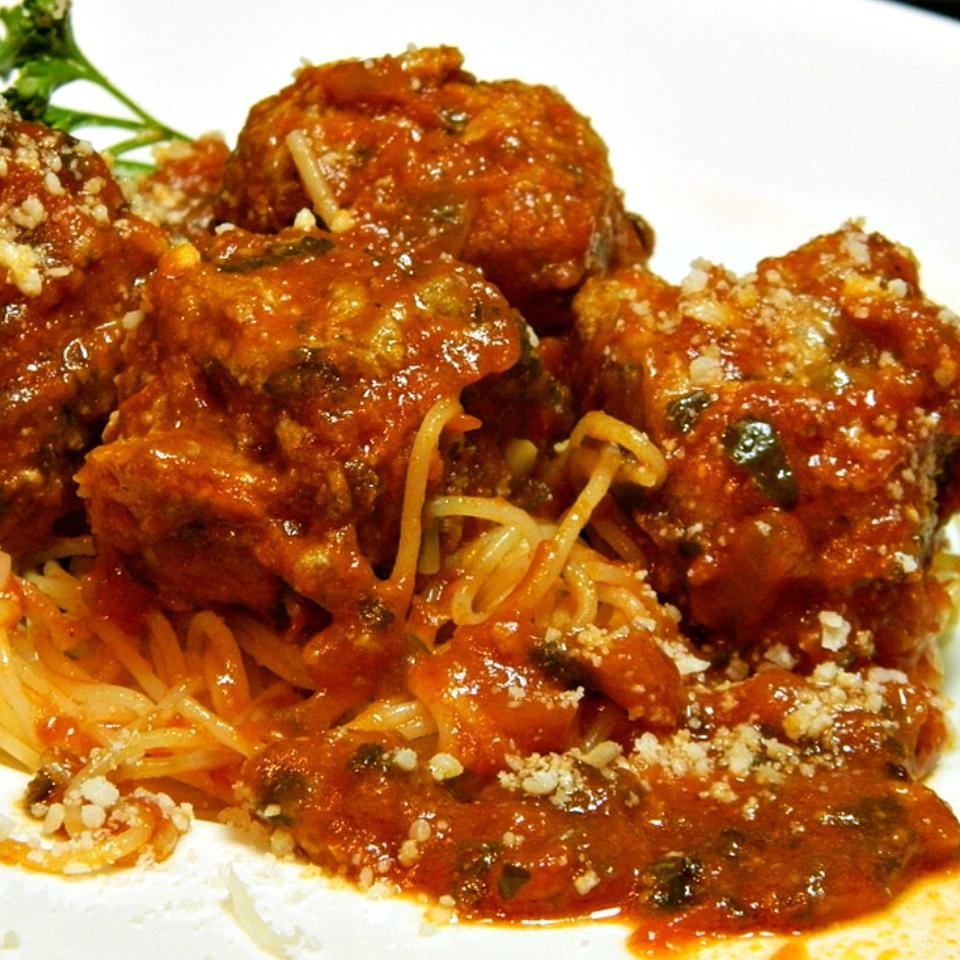 Chef John's Ricotta Meatballs Marianne