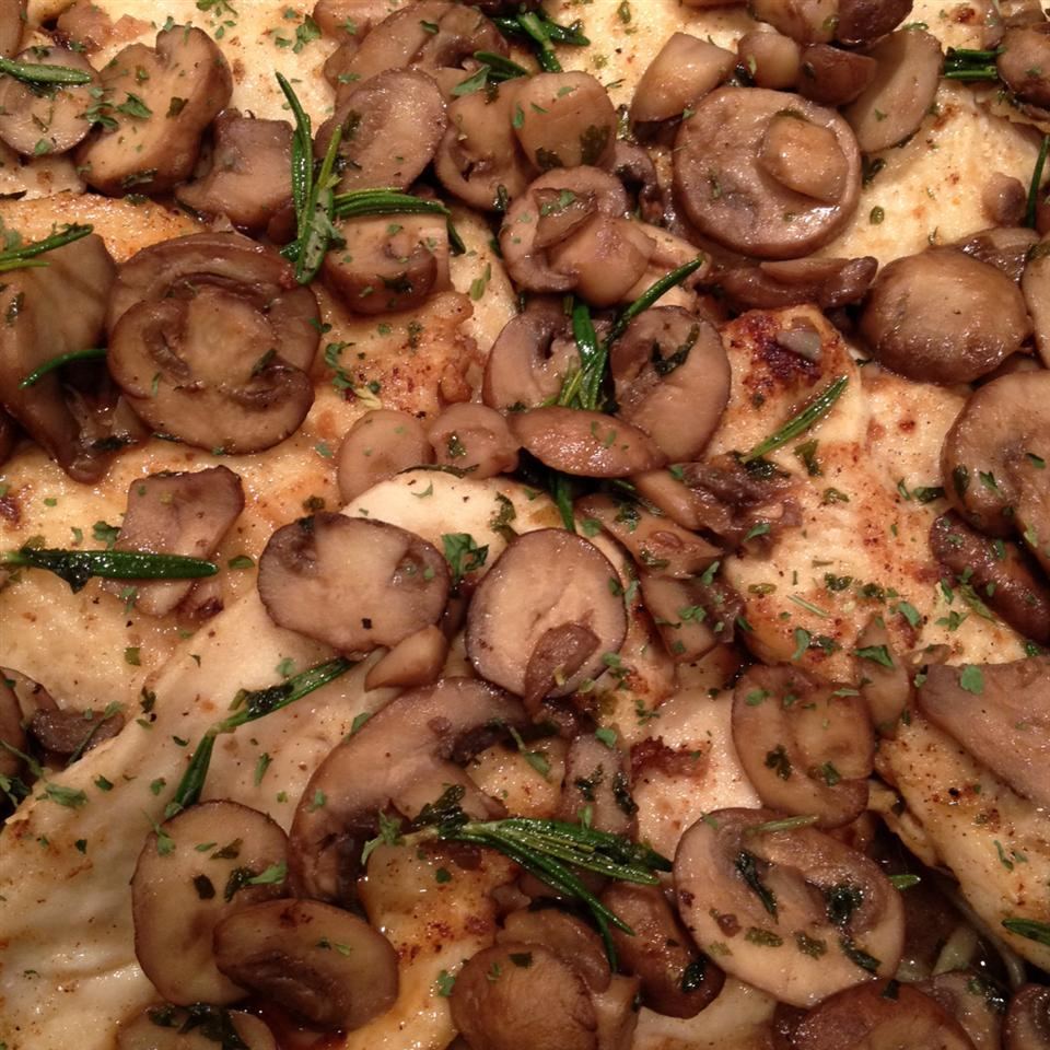 Veal or Chicken Marsala Wesley Panckeri