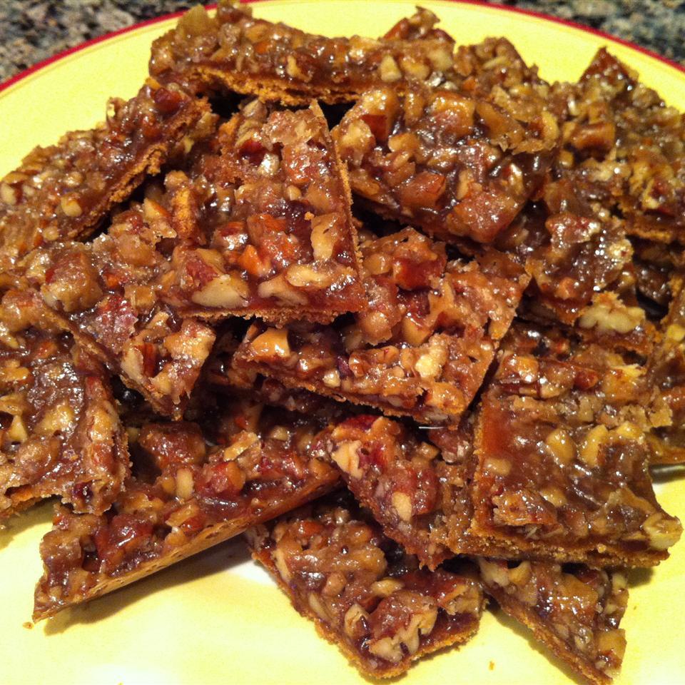 Mary's Salted Caramel-Pecan Bars CherylT