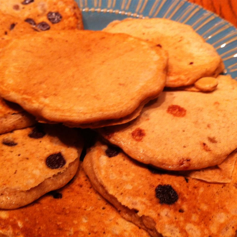 Granola Almond Pancakes CowgurFam